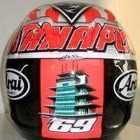 Moto GP - Hayden: Un casque spécial pour Indy