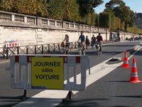La journée sans voiture à Paris, c'est dimanche