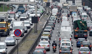 À Paris, un automobiliste sur quatre est seul dans sa voiture