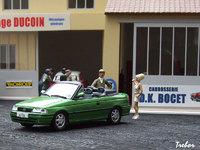 1/43ème - OPEL Astra cabriolet
