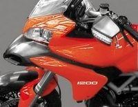 Le trail Ducati 2010 : En 1200 cc mais Multistrada ou Stradaperta !?
