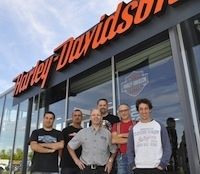 Harley-Davidson inaugure son shop à Melun les 19 et 20 Mars 2016