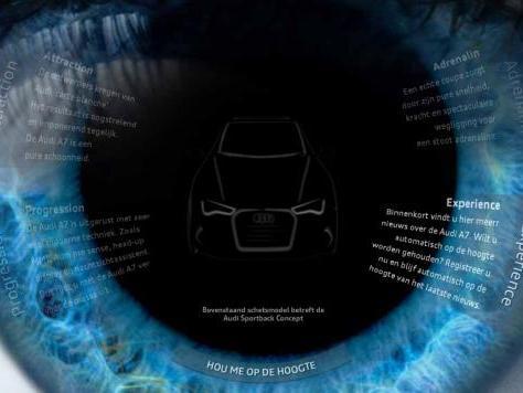 L'Audi A7 en approche : elle débute le teasing