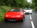 Vidéo - Mazda MX-5 Mk1 (1990) vs Mazda MX-5 Mk3 (2012) : cœur de roadster