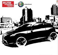 Future Alfa Romeo Junior : le sketch teasing