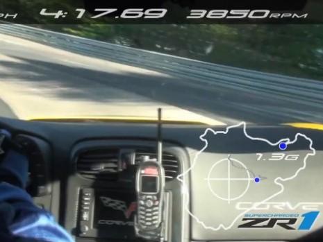 [vidéo] Ring Folies : les 7'19''63 de la Corvette ZR1 2011