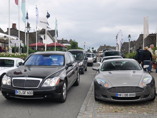Un concept commun Aston Martin - Maybach à Francfort ?