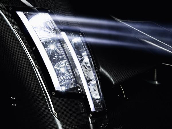 Eclairage laser pour Audi aux 24 Heures du Mans