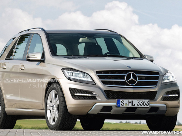 Prochain Mercedes ML : comme ça ?