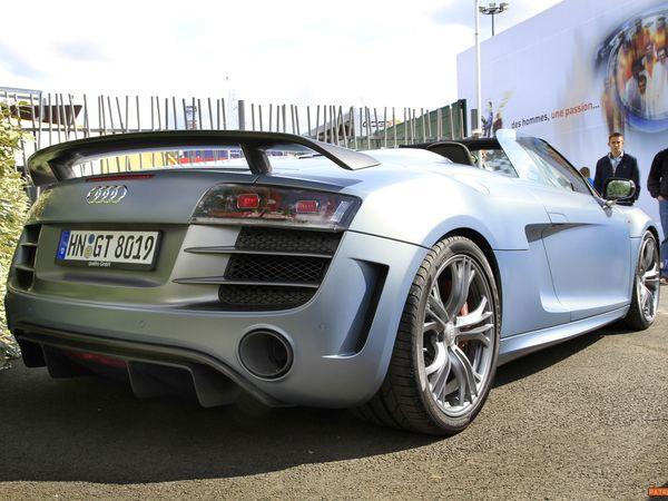 Surprise : l'Audi R8 GT Spyder aux 24h du Mans