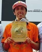 Motocross mondial : Antonio Cairoli champion du monde au Brésil, sur un plateau