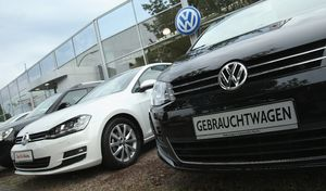 En Allemagne, la crise du diesel fait mal aux revendeurs