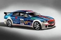 Une Maserati Quattroporte de course!