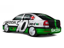 Une Skoda Octavia de 600 ch à la Speed Week de Bonneville