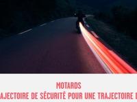 La trajectoire de sécurité enseignée au permis moto dès 2020