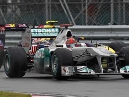 Schumacher de retour aux avant-postes