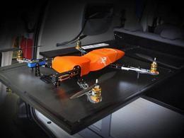 Une camionnette porte-drones conçue par Gruau