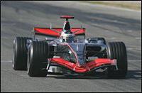 McLaren Mercedes en route pour Bahreïn