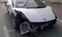 Lamborghini Gallardo et ralentisseur ne font pas bon ménage