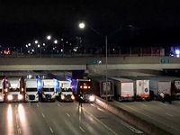 Insolite: les routiers forment un barrage pour éviter un suicide
