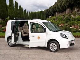 Un véhicule électrique pour le pape. Merci, Renault!