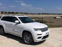 Jeep Grand Cherokee 2017 - Les premières images de l'essai en live