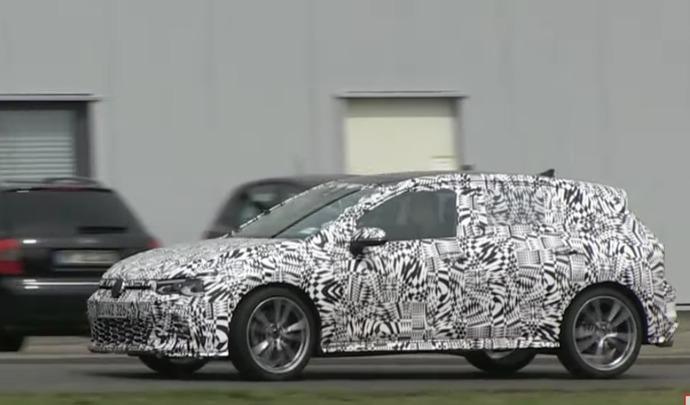 La nouvelle Volkswagen Golf GTI se montre à nouveau