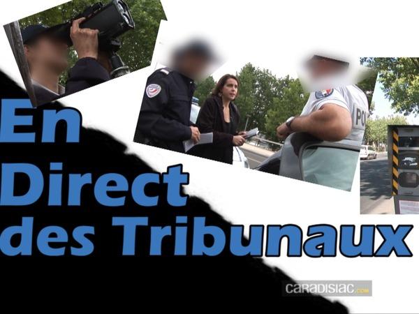 Vidéo en direct des tribunaux. L'automobiliste arrêté en excès de vitesse est convaincu que l'agent s'est trompé de véhicule
