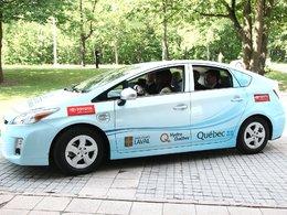 Toyota Prius hybride rechargeable/Canada : un exemplaire livré en Colombie-Britannique pour être testé