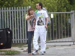 Robert Kubica sur ses 2 jambes
