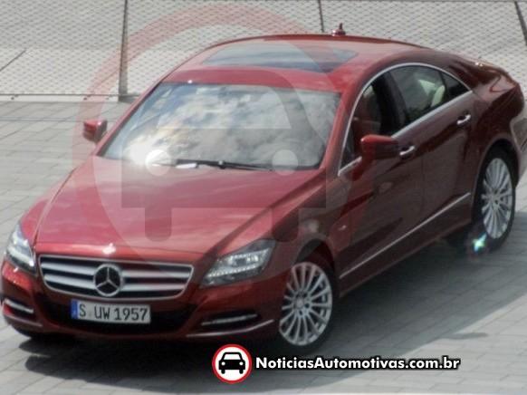 Futur Mercedes CLS : cette fois-ci entièrement nu