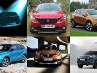 Les petits SUV sont les nouvelles stars du marché européen
