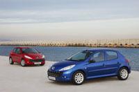 Nouvelle Peugeot 206+: Les tarifs