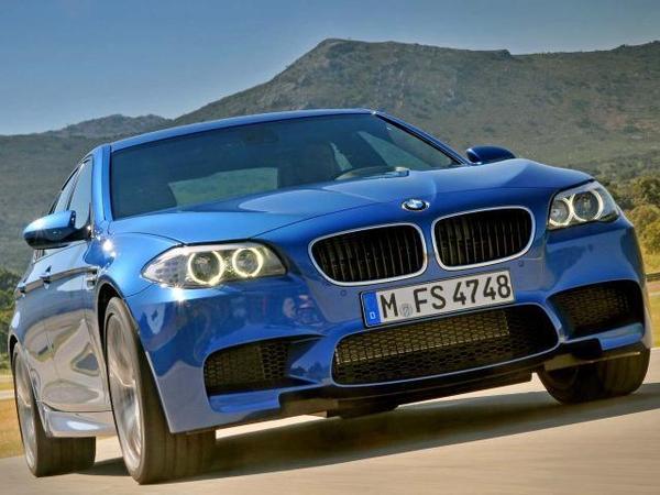 Officieuse : la BMW M5 F10 plus rapide que la com'