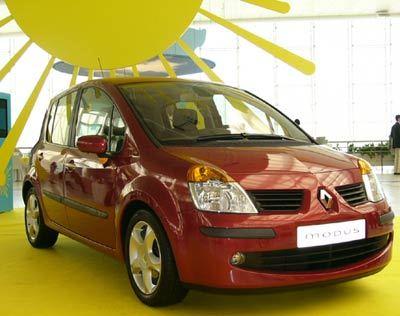 Toute la Renault Modus en 60 photos