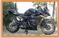Bas de carénage JMV Concept pour la Yamaha XJ6 Diversion '09