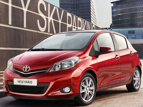 Et maintenant au tour de la nouvelle Toyota Yaris