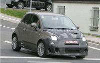 """Fiat 500 Abarth """"Essesse"""" sur le feu"""