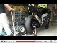 LéoVince et la Kawasaki ZX-10R 2011 font des ronds [vidéo]