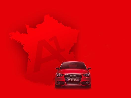 L'Audi A1 fait son tour de France
