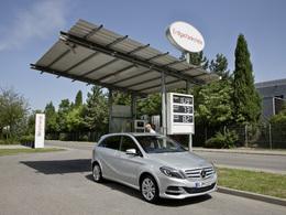 Mondial de Paris 2012 - Mercedes B200 Natural Gas Drive