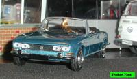 Miniature : PEUGEOT 504 cabriolet de 1969