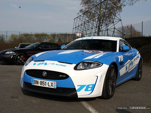 Photos du jour : Jaguar XKR-S (Rallye de Paris)