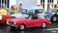Miniature : 1/43ème - FIAT 1600 S cabriolet