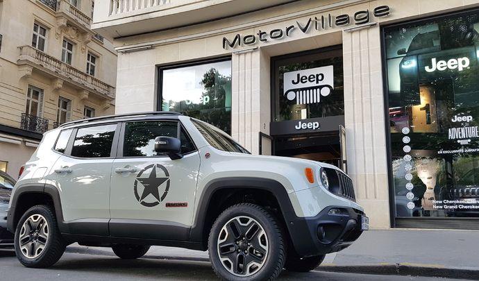 Jeep s'expose au Motor Village (reportage vidéo)