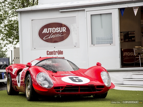 Photos du jour : Ferrari P4 Replica (Classic Days)
