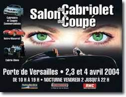 Salon du Cabriolet et du Coupé 2004 :   ça donne envie d'acheter