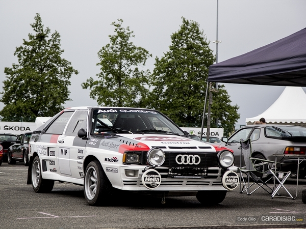 Photos du jour : Audi Quattro (Classic Days)