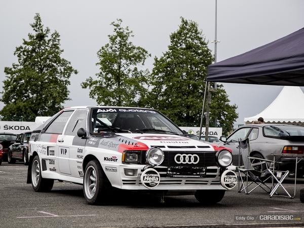 Photos du jour : Audi Quattro (Classic Days)