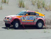 Rallye Por Las Pampas, première étape